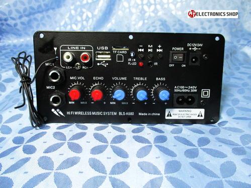 เครื่องเล่น MP3 สำหรับยึดติดตู้ลำโพง 100 วัตต์