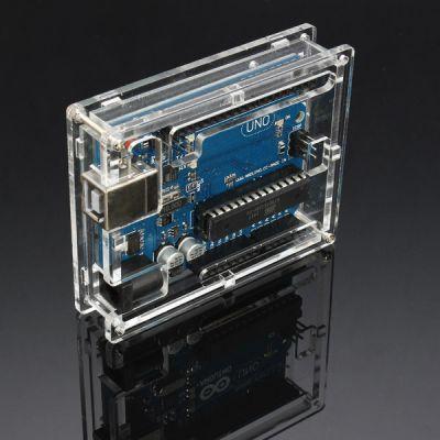 Case acrylic Arduino UNO R3 กล่องอะคริลิคแบบใส For Arduino Uno