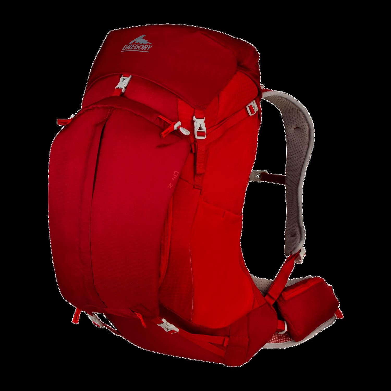 GREGORY Z40 for men - Spark Red