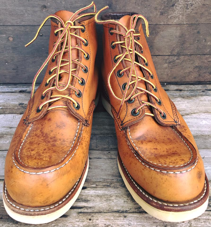 Vintage RED WING 875 made in USA size 8.5E