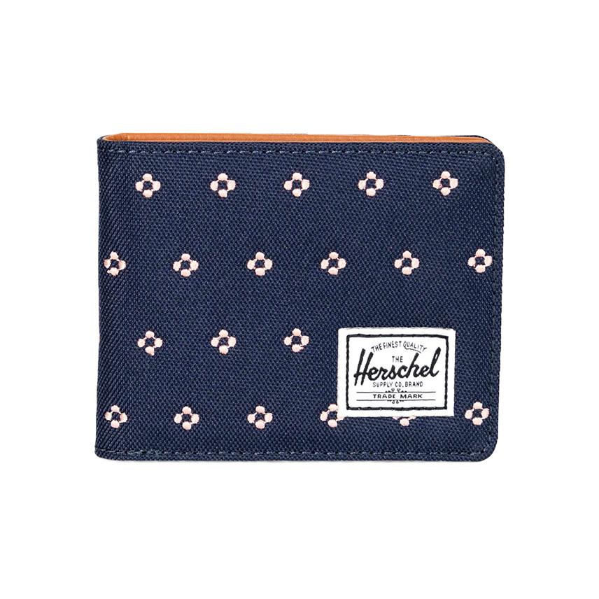 Herschel Hank Wallet - Peacoat Embroidery