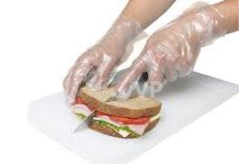ถุงมือพลาสติก ลังละ 10,000 ชิ้น ชิ้นละ 0.32 บาท