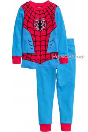 1246 H&M Jersey Pajamas - Blue/Spiderman ขนาด 4-6,6-8 ปี