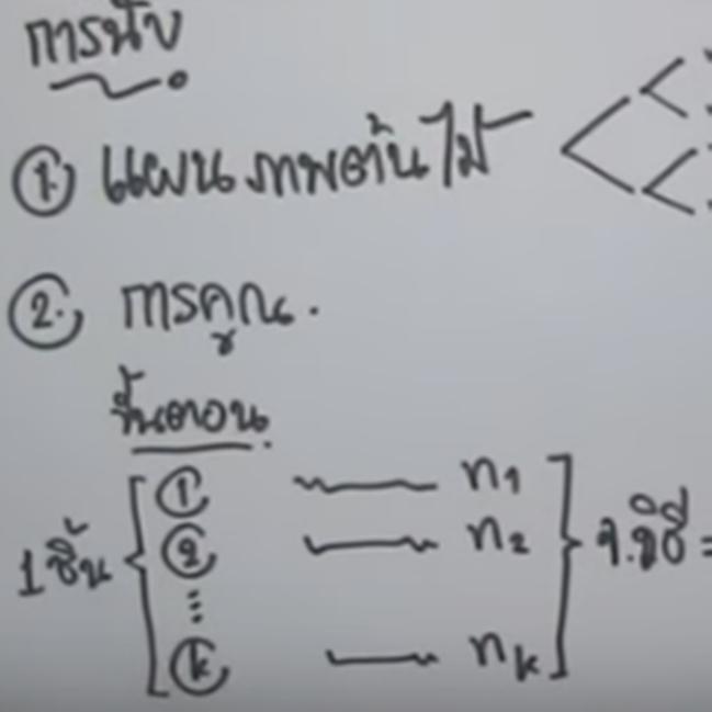 คอร์สติวสอบคณิตO-NETสรุปเนื้อหา ความน่าจะเป็น