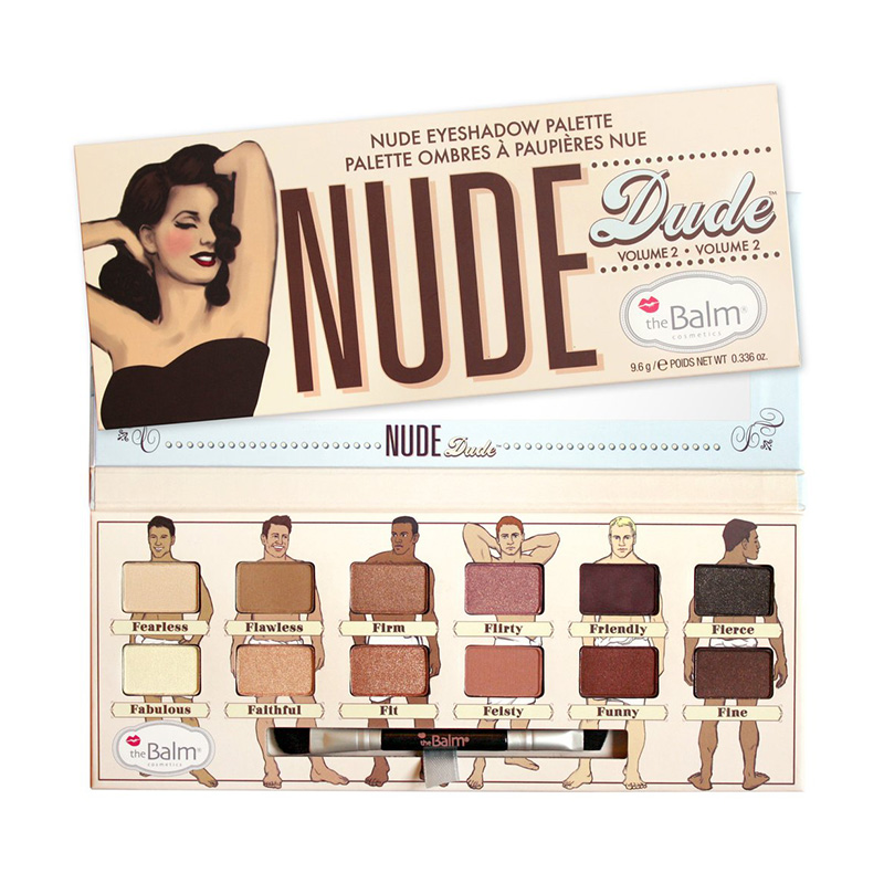 The Balm Nude Dude Eyeshadow Palette Volume 2