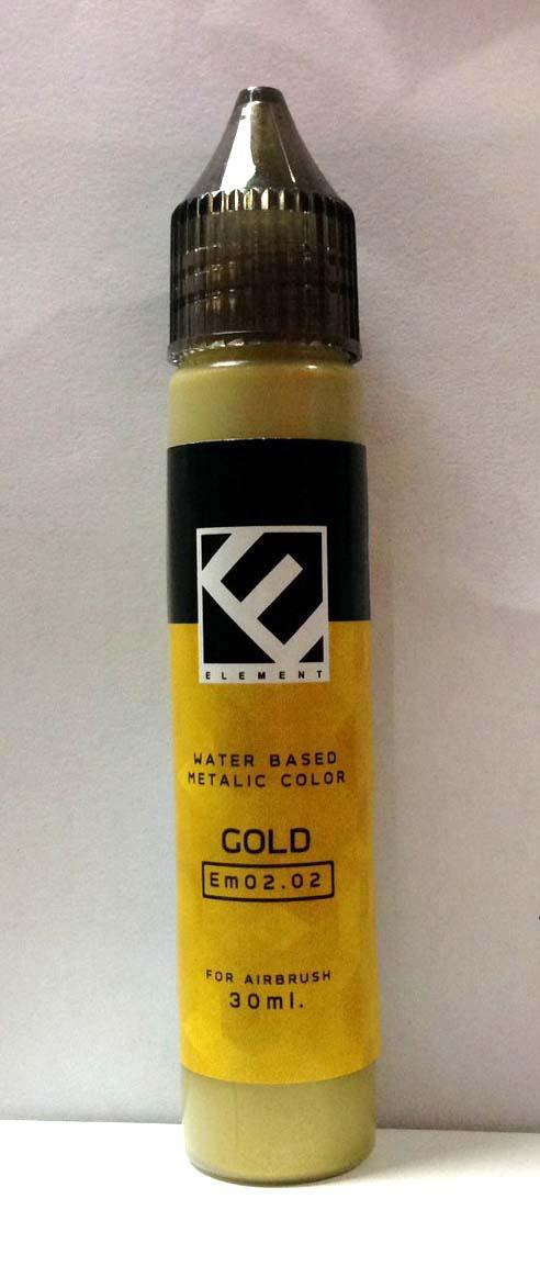 (เหลือ 1 ชิ้น รอเมล์ฉบับที่2 ยืนยัน ก่อนโอน) Em02.02 gold 30 ml.