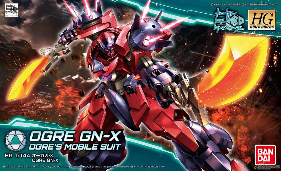 HGBD 1/144 Ogre Gn-X 2000 yen