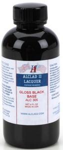 (เหลือ 1 ชิ้น รอเมล์ฉบับที่2 ยืนยัน ก่อนโอน) ALC-305 GLOSS BLACK BASE (ENAMEL) (ขวดใหญ่ 4 oz.)