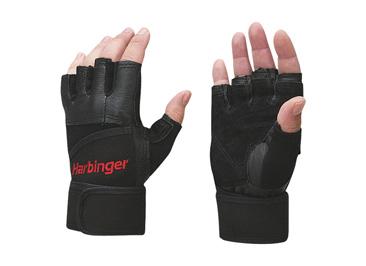 # งาน Sale # HARBINGER Pro Series Wristwrap Glove Black 2 glove