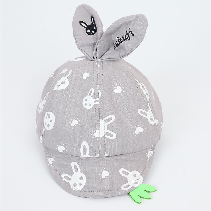 หมวก สีเทา แพ็ค 5ใบ ไซส์รอบศรีษะ 48-50cm