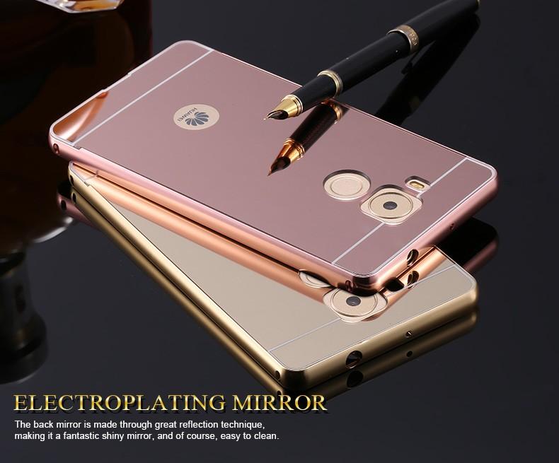 เคส Huawei Mate 8 รุ่น Aluminium Hybrid Mirror Back (เคสฝาหลังเงา)