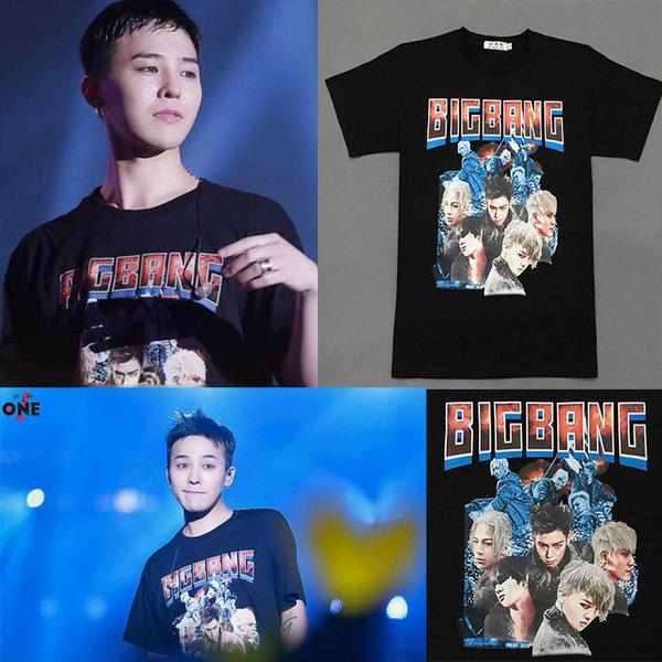 เสื้อแฟชั่นนักร้องเกาหลี เสื้อยืดแฟชั่น Bigbang GD MADE (ระบุไซส์ สี)