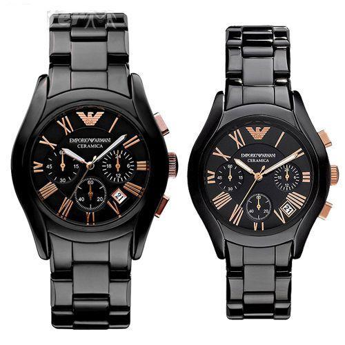 นาฬิกา Emporio Armani Black Ceramica AR1410 แบรนด์แท้
