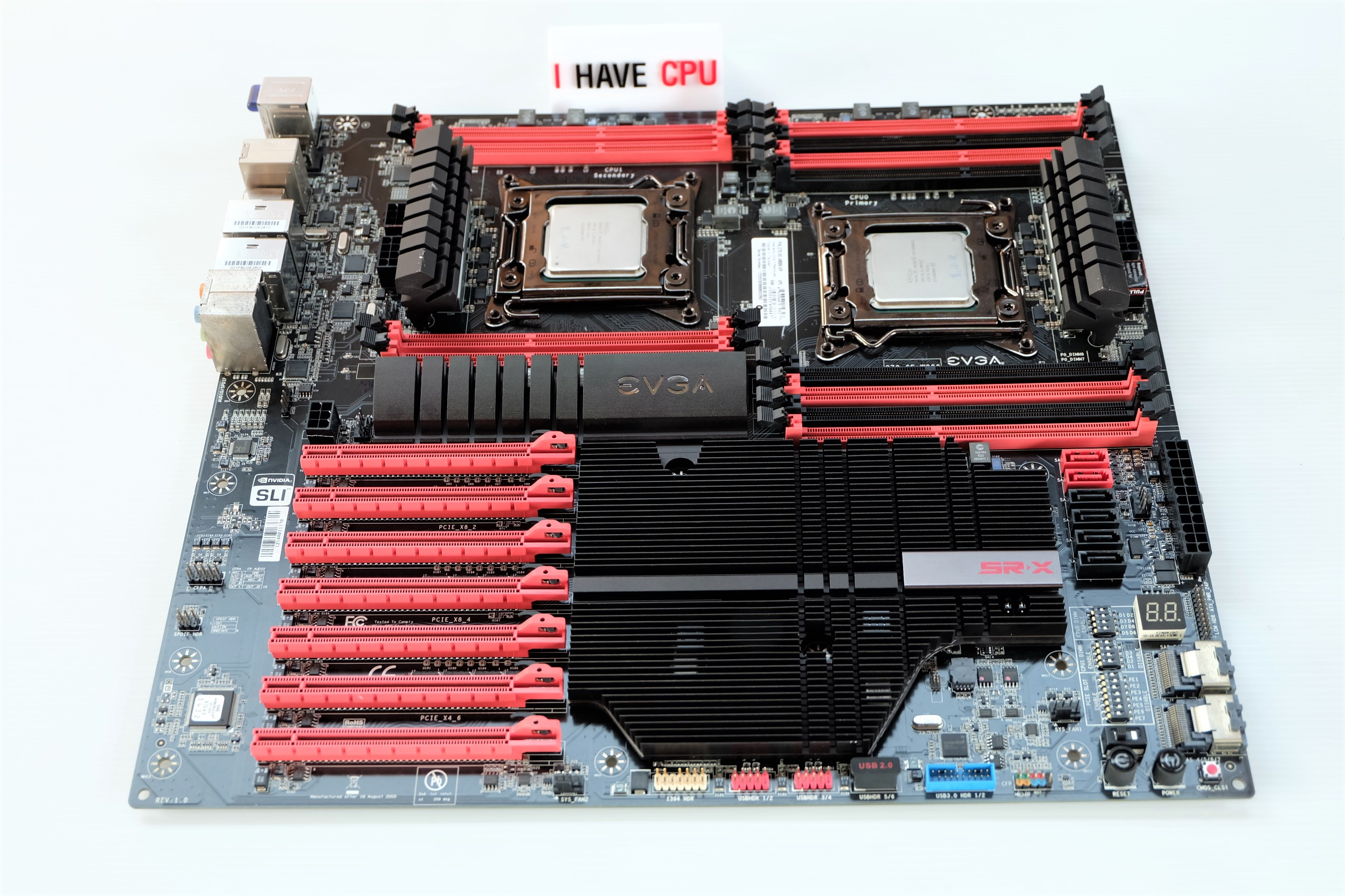 Workstaton 20 Core 40 Thread, MB EVGA SR-X, RAM 32GB