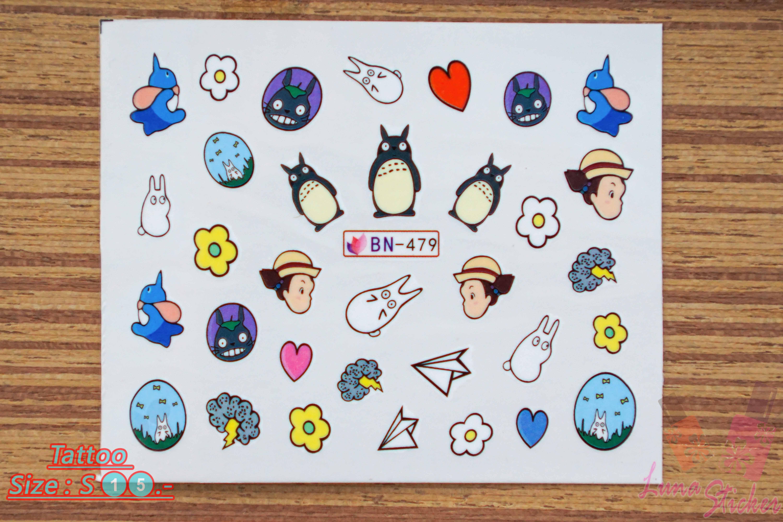 สติ๊กเกอร์ติดเล็บ BN479