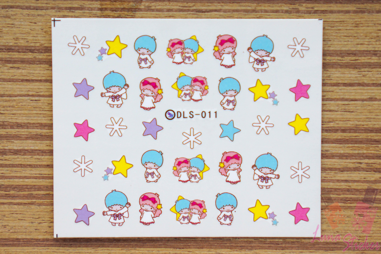 สติ๊กเกอร์ติดเล็บ DLS011