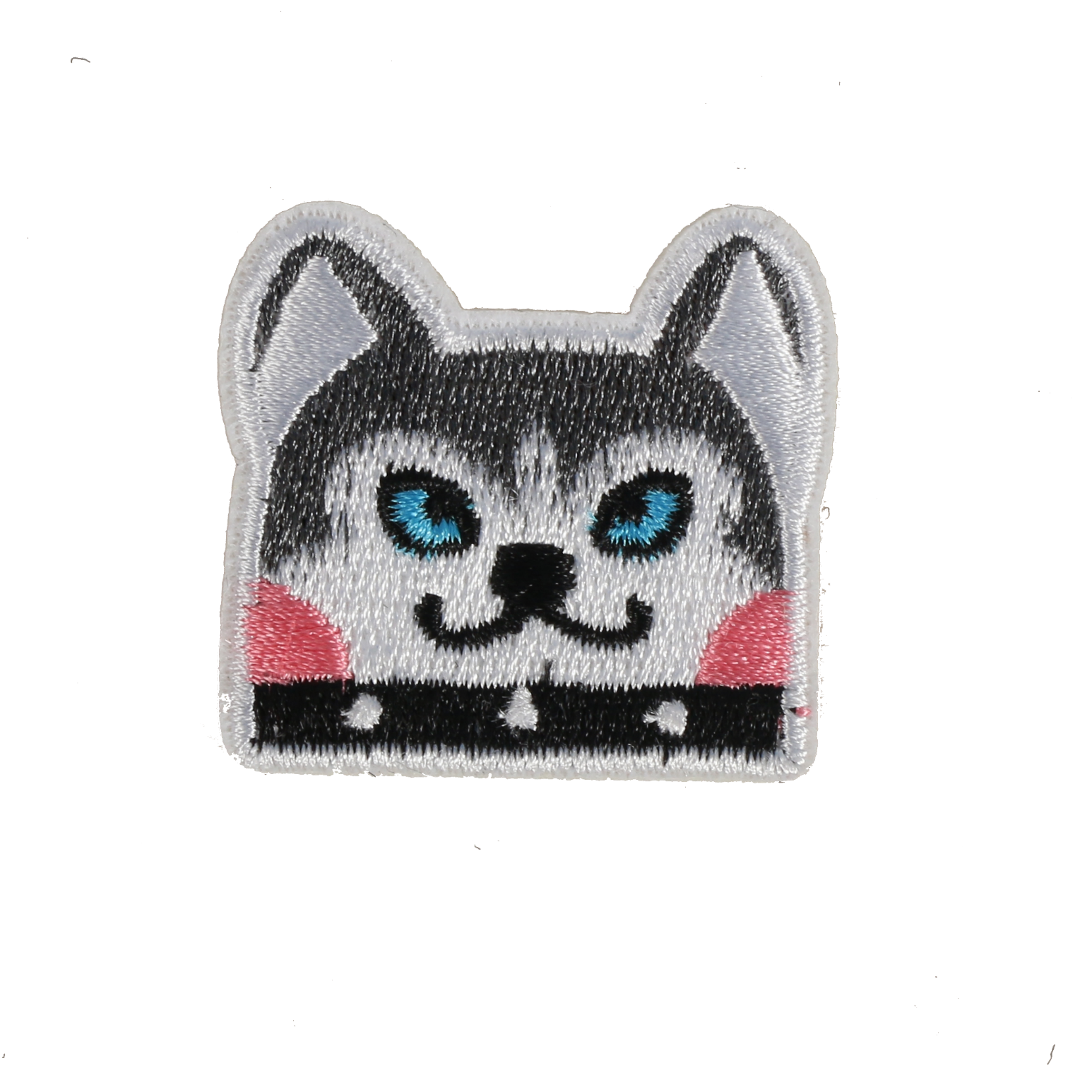 S0093 Siberian Husky Dog 4.2x4cm