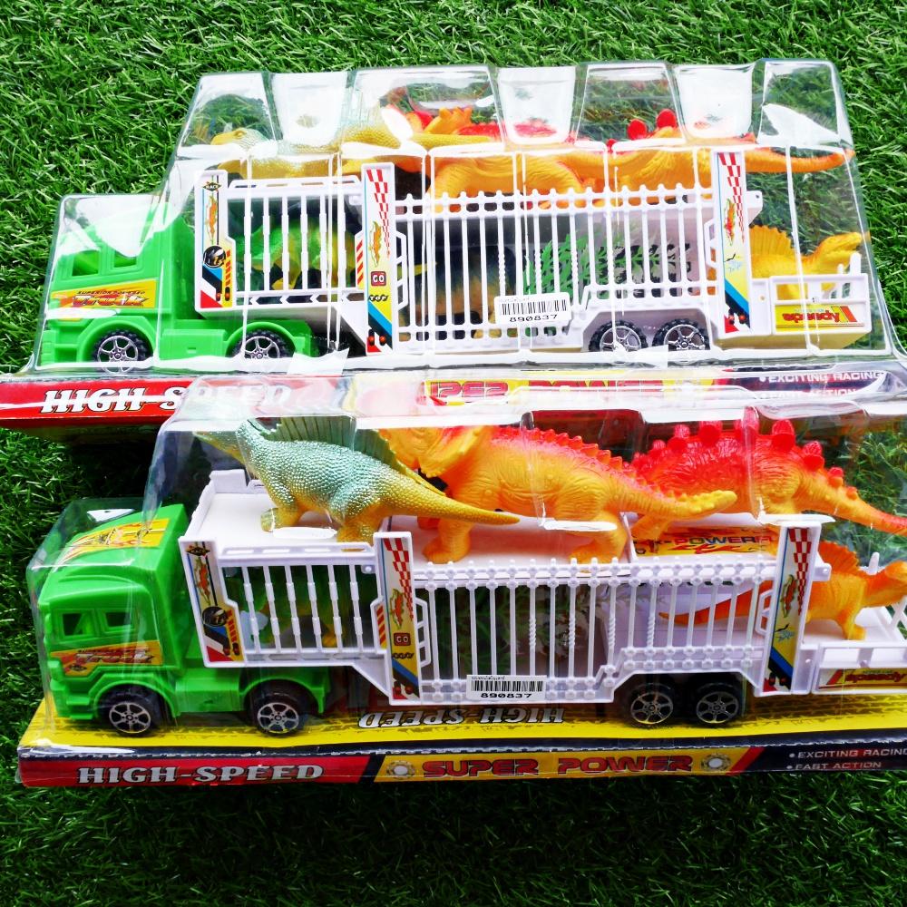 ของเล่นเด็ก รถเทรนไดโนเสาร์