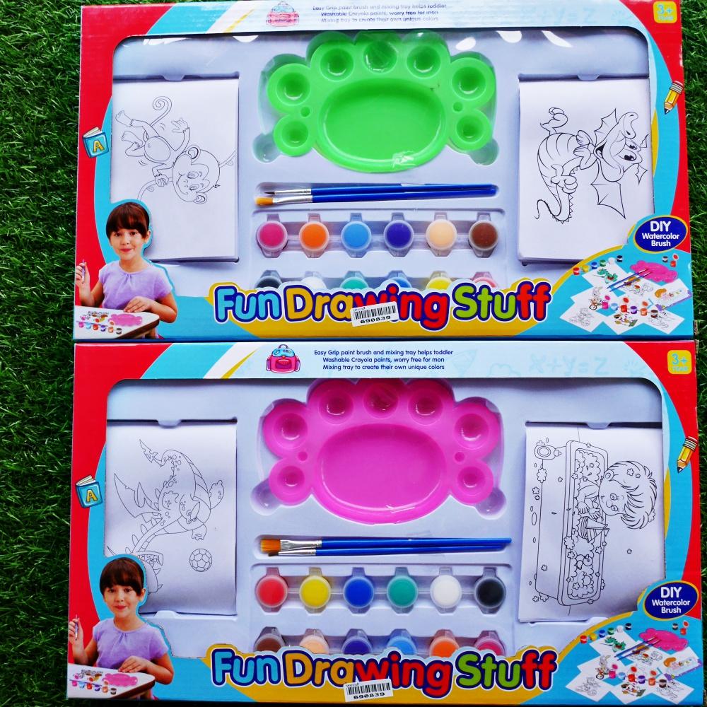 ของเล่นเด็ก ชุดระบายสี