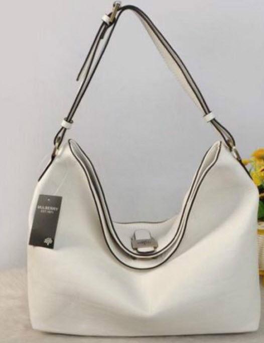 กระเป๋าสะพาย สีขาว