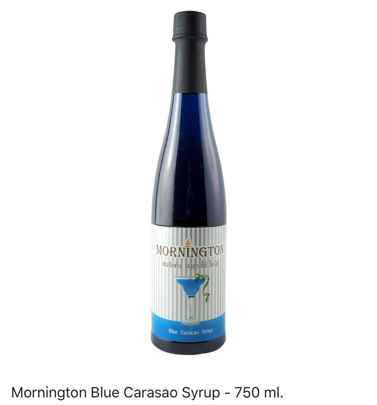 Mornington Blue Carasao Syrup
