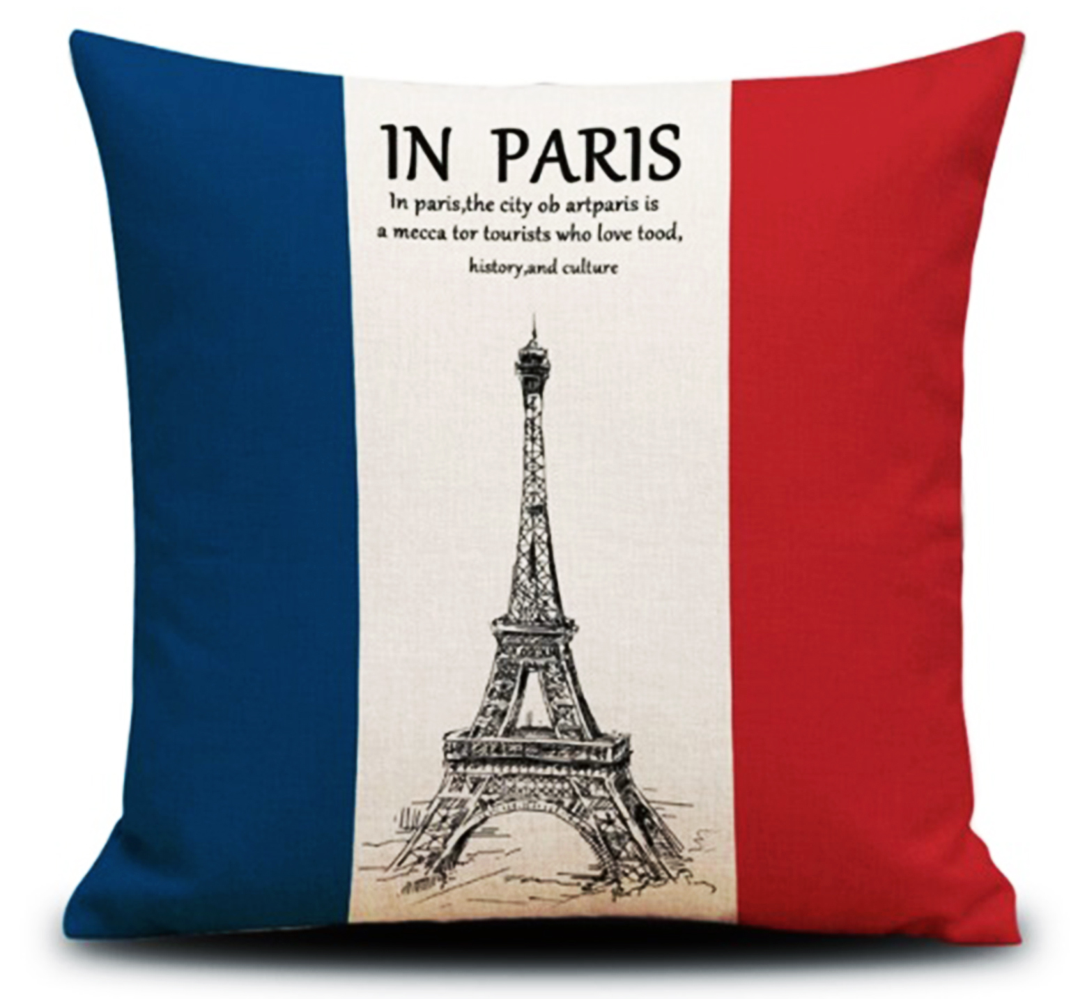 หมอนอิง The Eiffel Tower