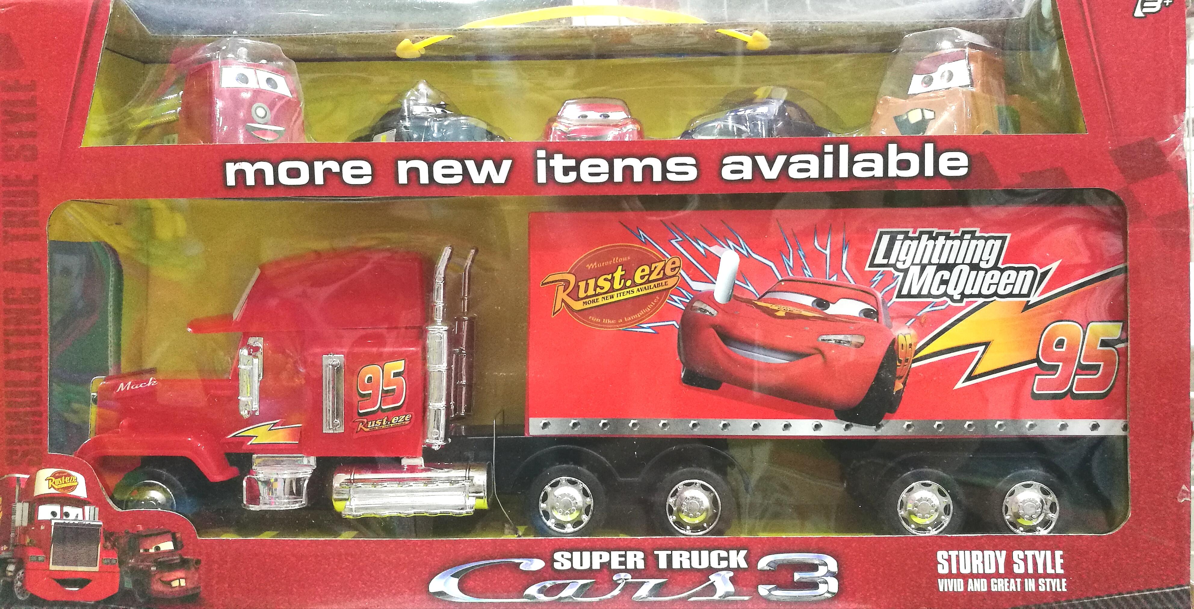 พร้อมส่ง Super Truck CARRS 3 รถคาร์ ส่งฟรี