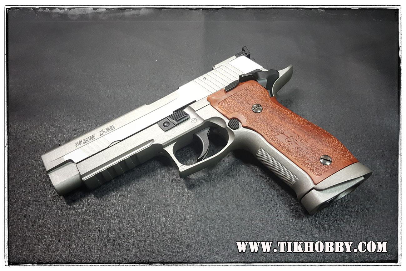 ปืนอัดลม (ปืนระบบแก๊สCo) รุ่น Sig226S X Five CyberGun