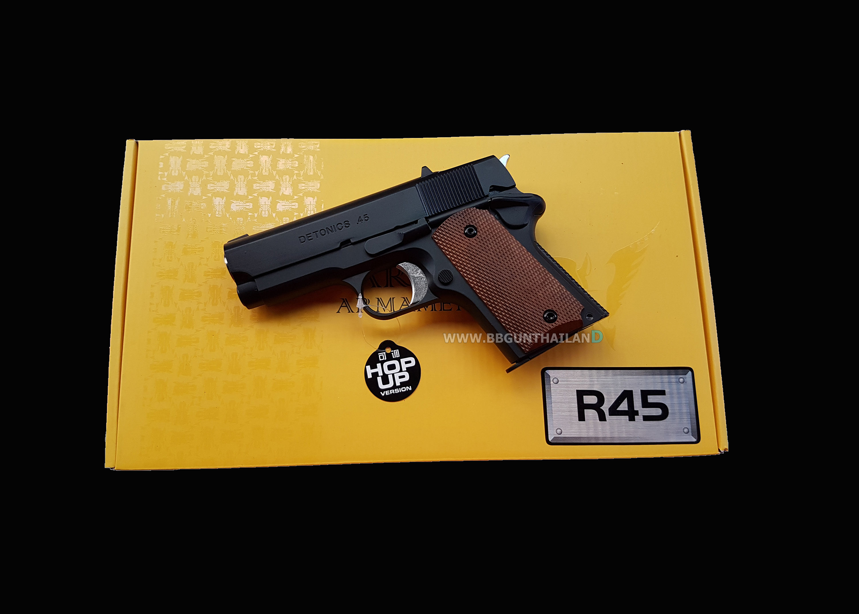 ARMY R45 ( Detronic สีดำ )