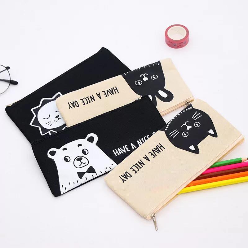 กระเป๋าใส่ปากกาแมวญี่ปุ่น