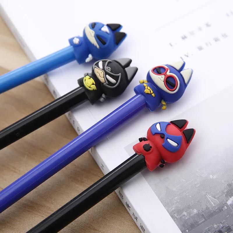 ปากกาแมวซุปเปอร์ฮีโร่ หมด