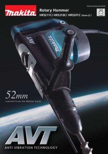 สว่านโรตารี่52mm. MAKITA รุ่น HR5201C