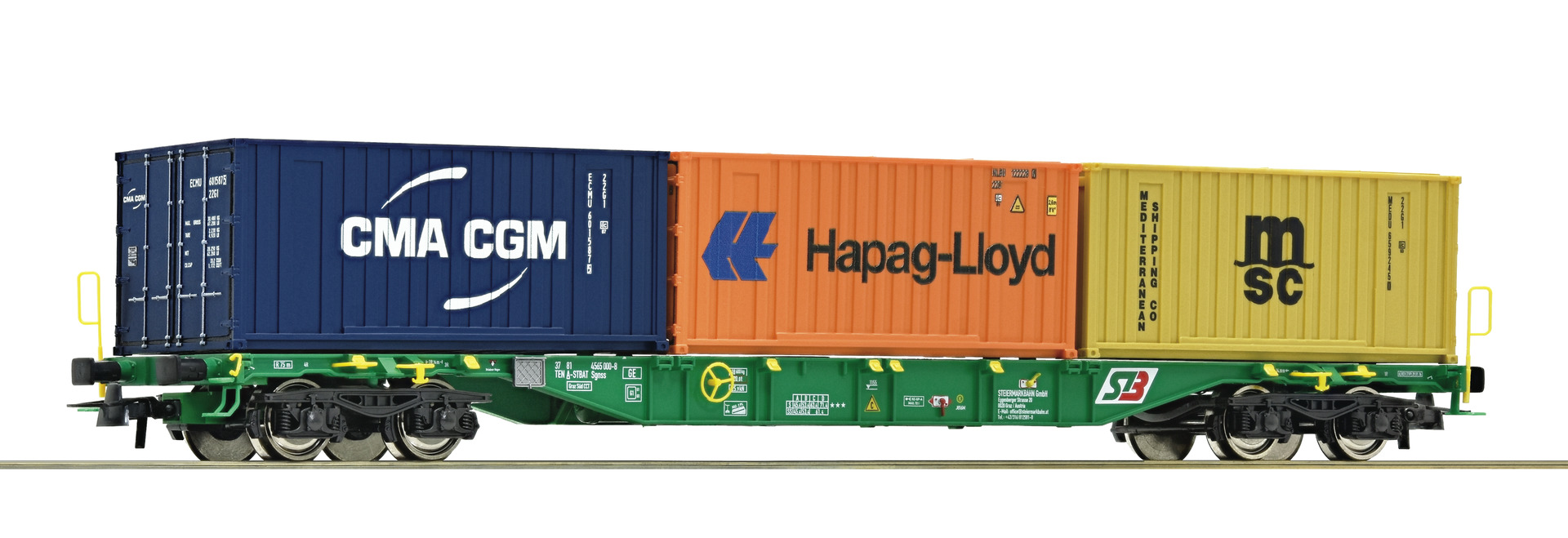 Roco76917 container car STB