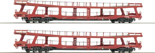 Roco74128 Auto transport 2 car set