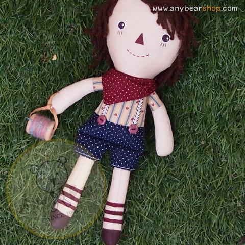 ตุ๊กตาเด็กชายโนกี้ ขนาด 25 cm - Nogie Boy