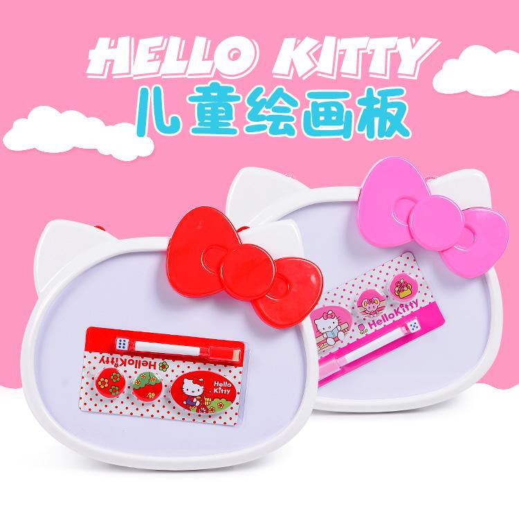 พร้อมส่งค่ะ กระดานไวท์บอร์ด+กระดานแม่เหล็ก Hello Kitty ใช้ได้สองด้านจ้า