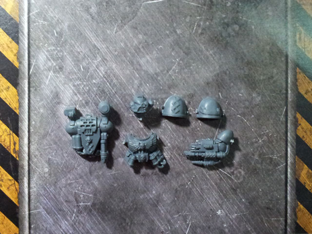 Space Marine Command Squad Apothecary set