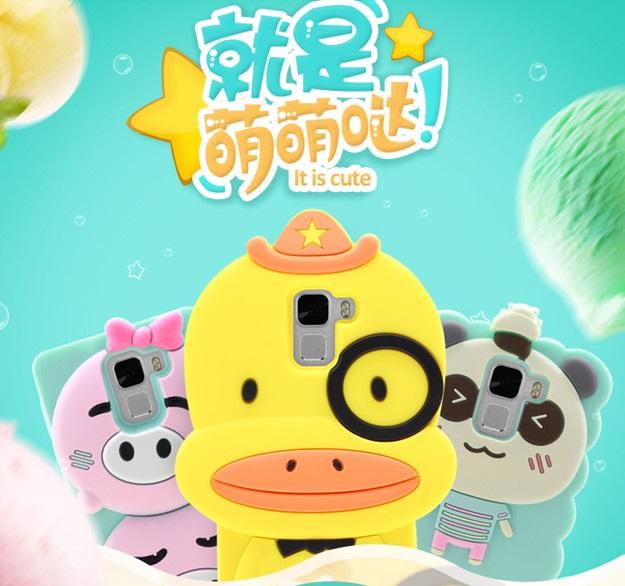 (412-026)เคสมือถือ Case Huawei Honor 7 เคสนิ่มตัวการ์ตูน 3D น่ารักๆสไตล์เกาหลี