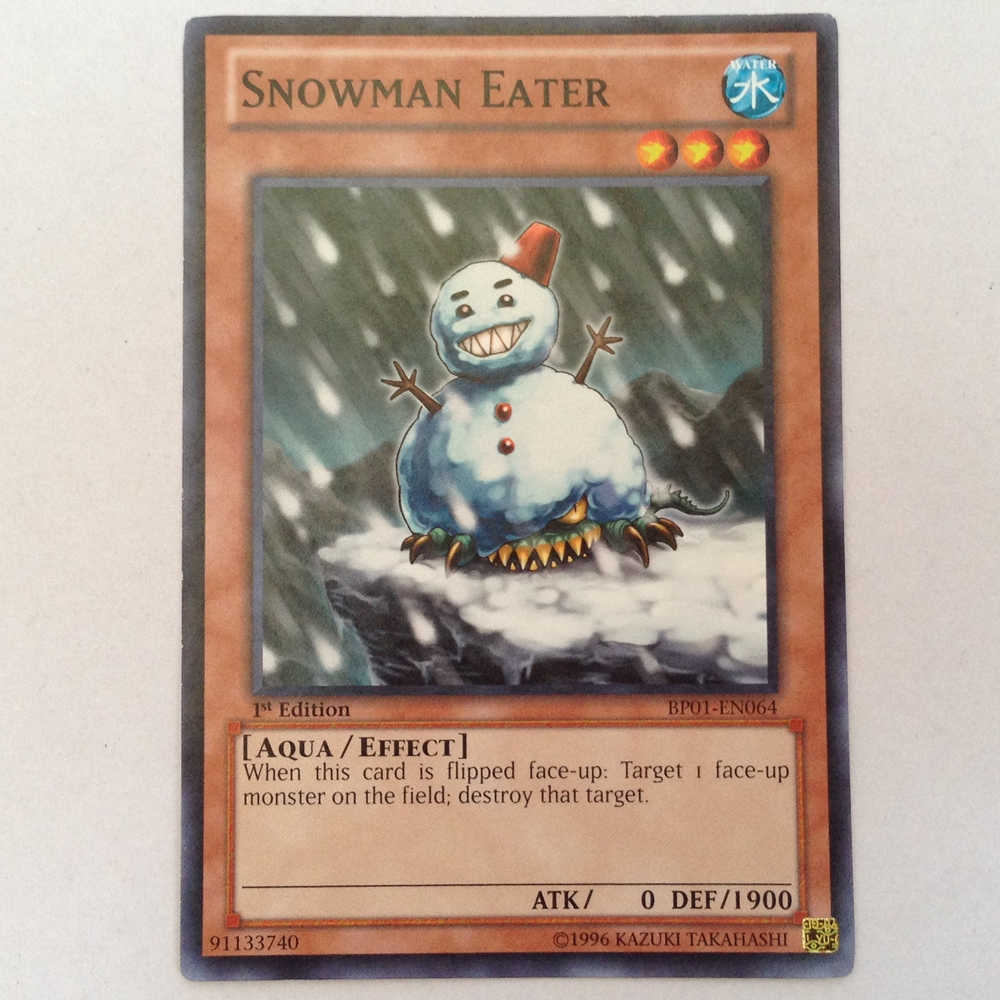 BP01-EN064 : Snowman Eater (Common) - Used