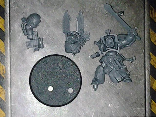 Deathwing Terminator sergeant DV single