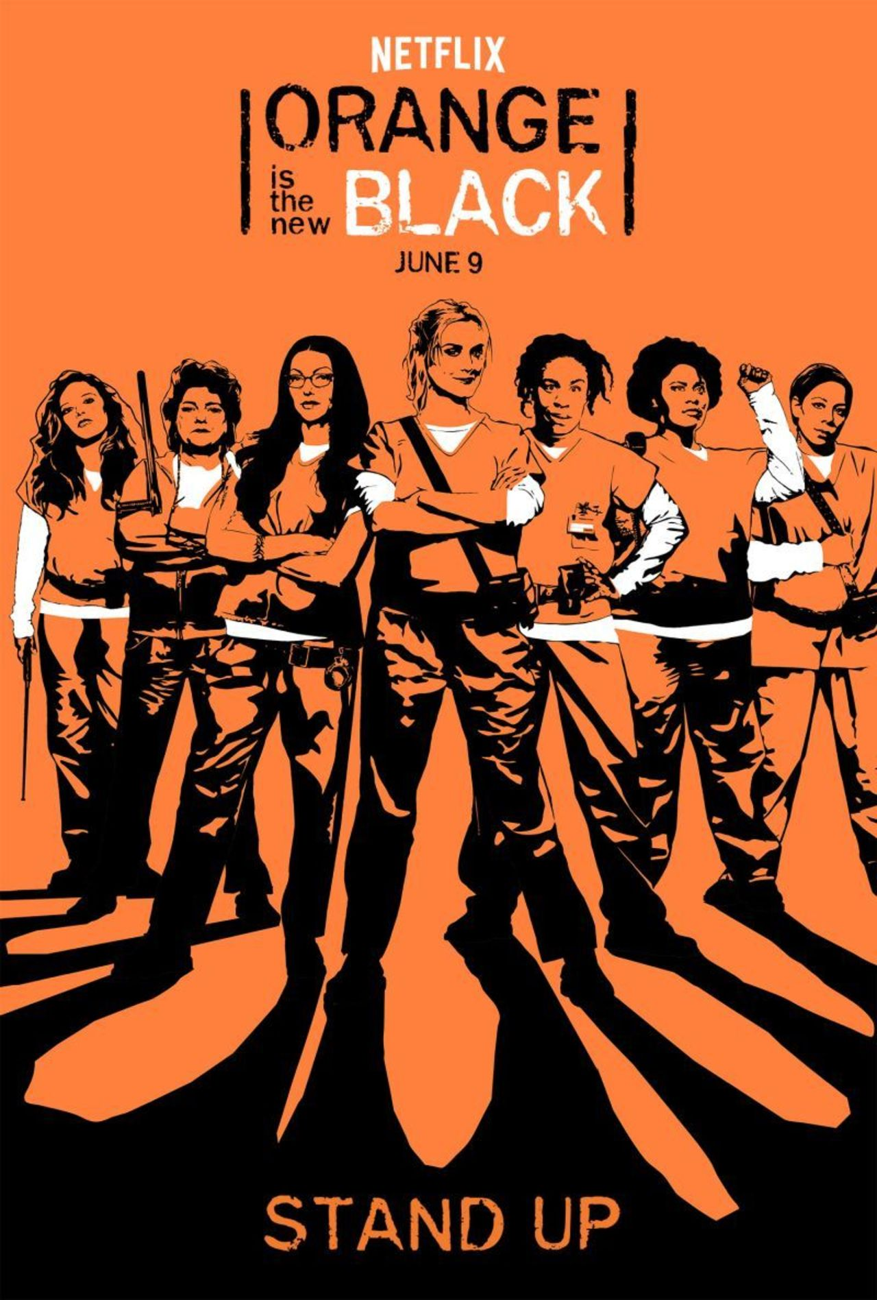 Orange Is The New Black Season 5 (บรรยายไทย 3 แผ่นจบ + แถมปกฟรี)