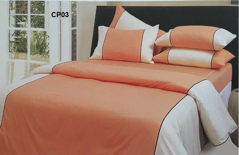 ผ้าปูที่นอน ทูโทน รัดมุม10นิ้ว ผ้าCVC250เส้นด้าย มี 7 สี 3.5ฟุต 2ชิ้น ชุดละ 450 บาท ส่ง 20ชุด