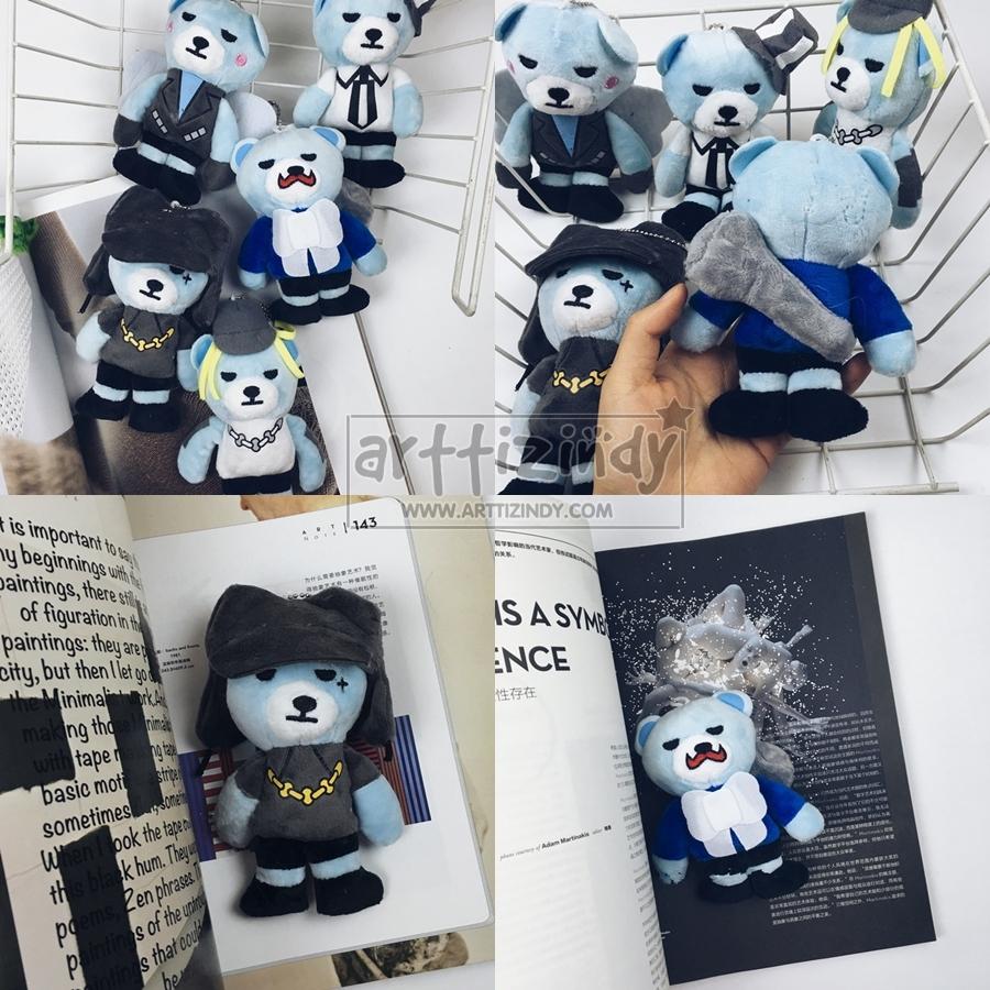 พวงกุญแจตุ๊กตา BIGBANG KRUNK II (15cm) -ระบุสมาชิก