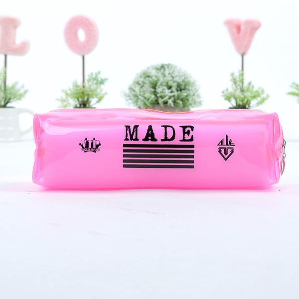 กระเป๋าดินสอ PVCใส MADE [ระบุสี]