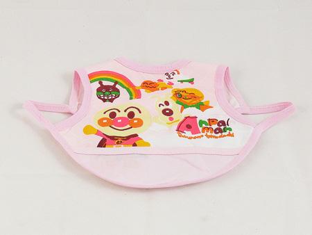 ผ้ากันเปื้อนอันปังแมนสีชมพู