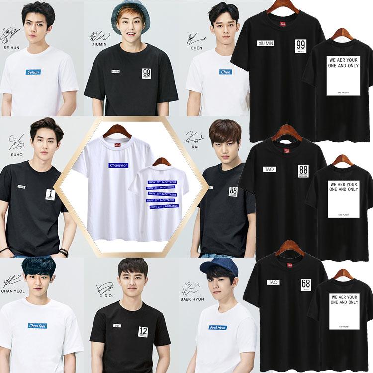 เสื้อยืด SAPO 2016 EXO EX'ACT -ระบุสมาชิก/สี/ไซต์-