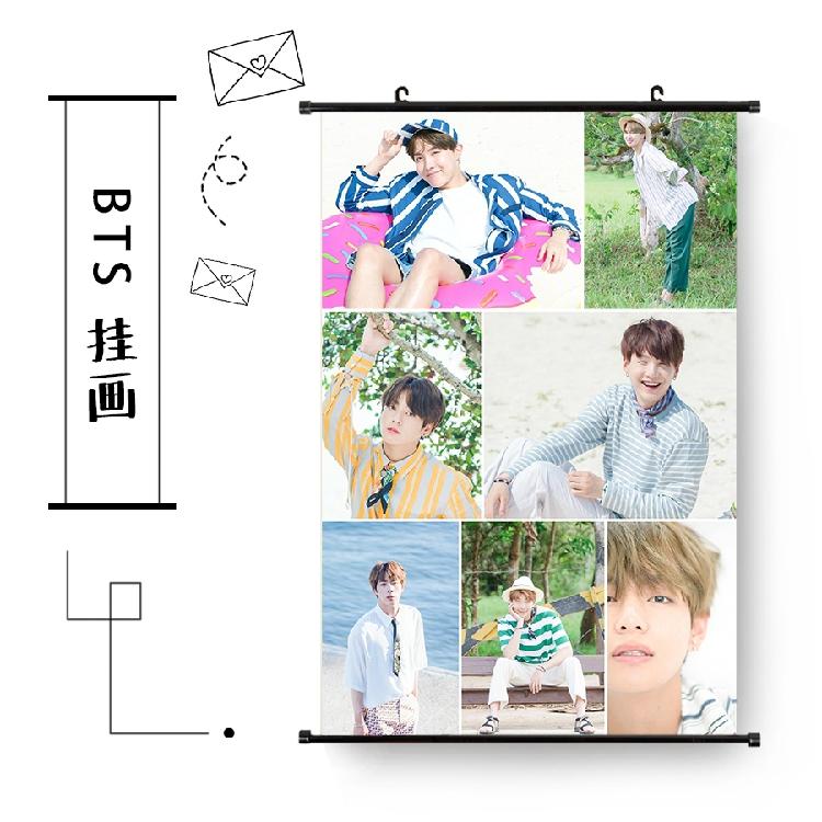 ไวนิลแขวนฝาผนัง BTS Summer package 2017