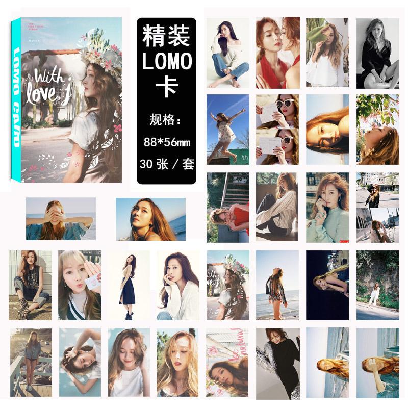 Lomo Card set JESSICA Solo (30pc)