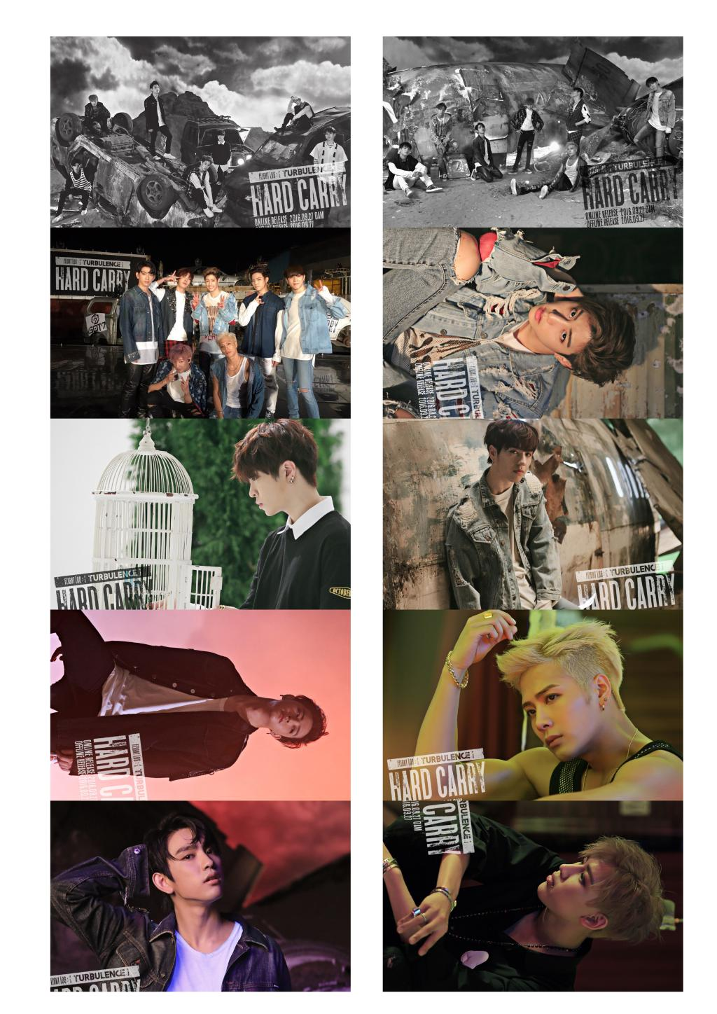 Card set GOT7 HARD CARRY (10pc)