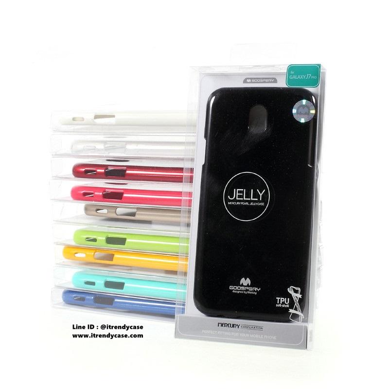 Samsung J7 Pro - เคส TPU Mercury Jelly Case (GOOSPERY) แท้